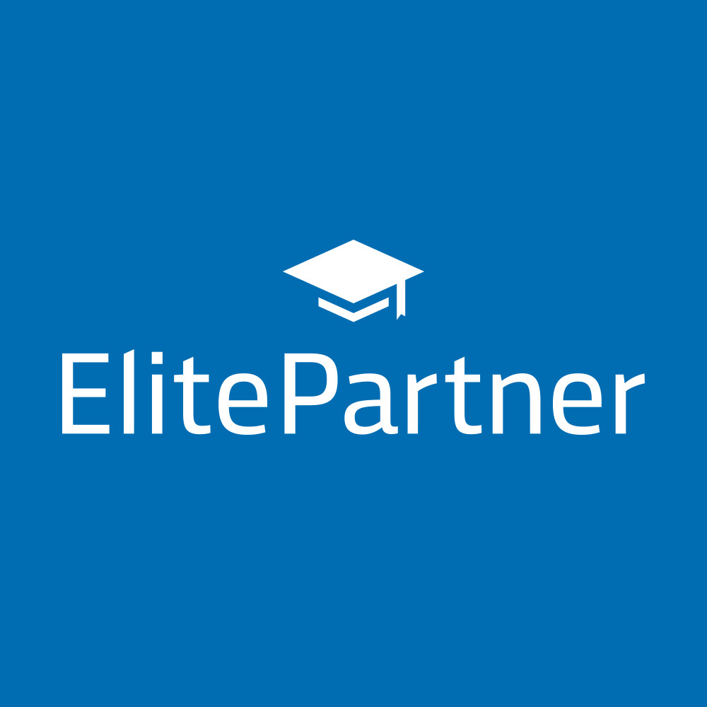 Elitepartner logo - Die beste Partnerbörsen