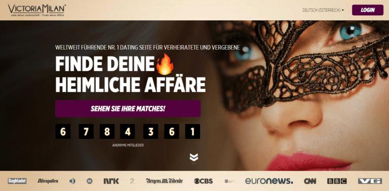 Victoria Milan - Screendump - Die besten Dating-Seiten