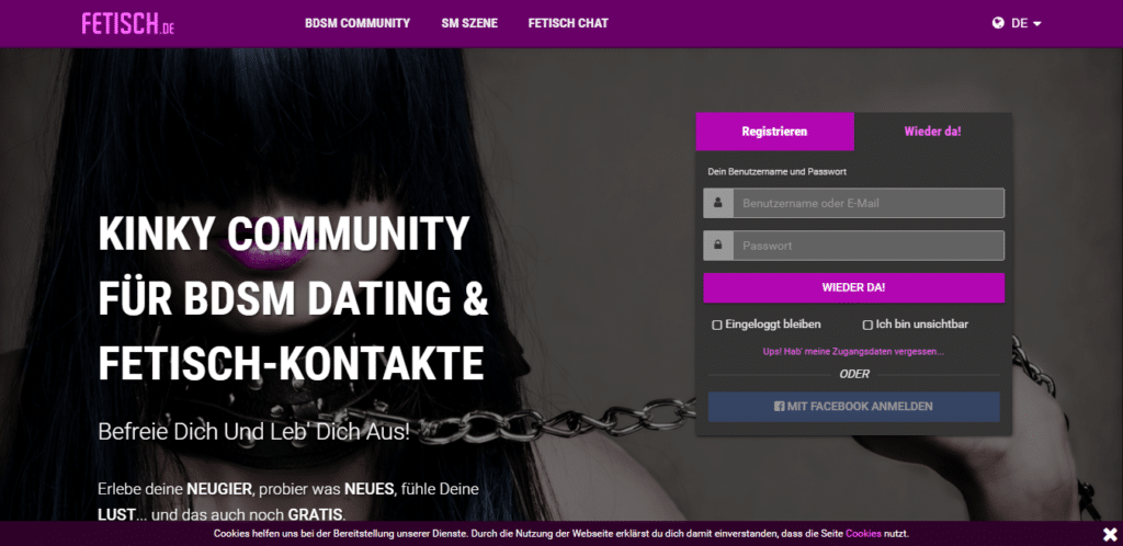 Fetisch - Die Besten Casual Dating Seiten