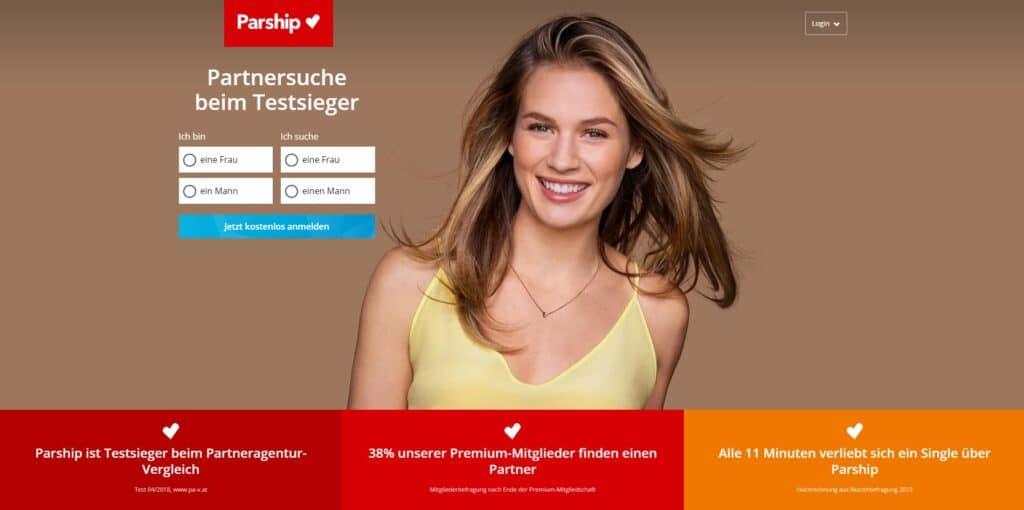 Parship.at - De besten Singlebörsen