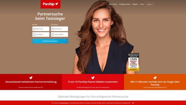 Parship.at - Die besten Partnerbörsen