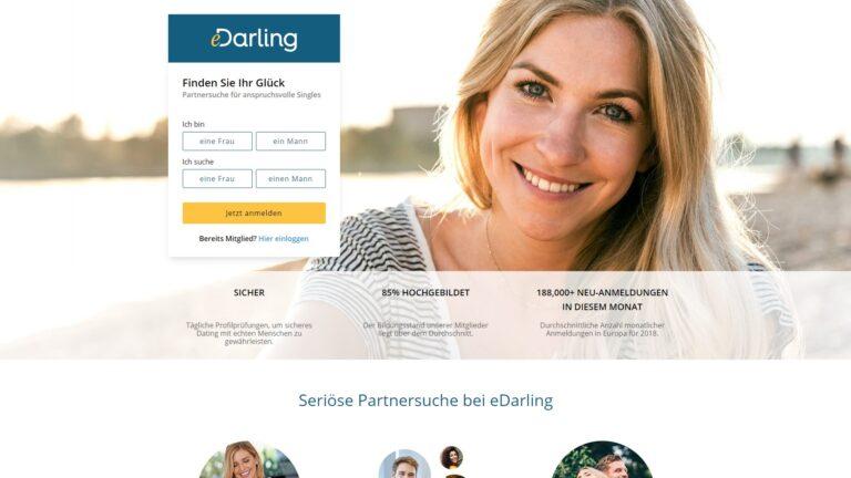 eDarling - Partnervermittlungen übersicht