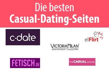 Die besten Casual-Dating-Seiten - Partnersuche