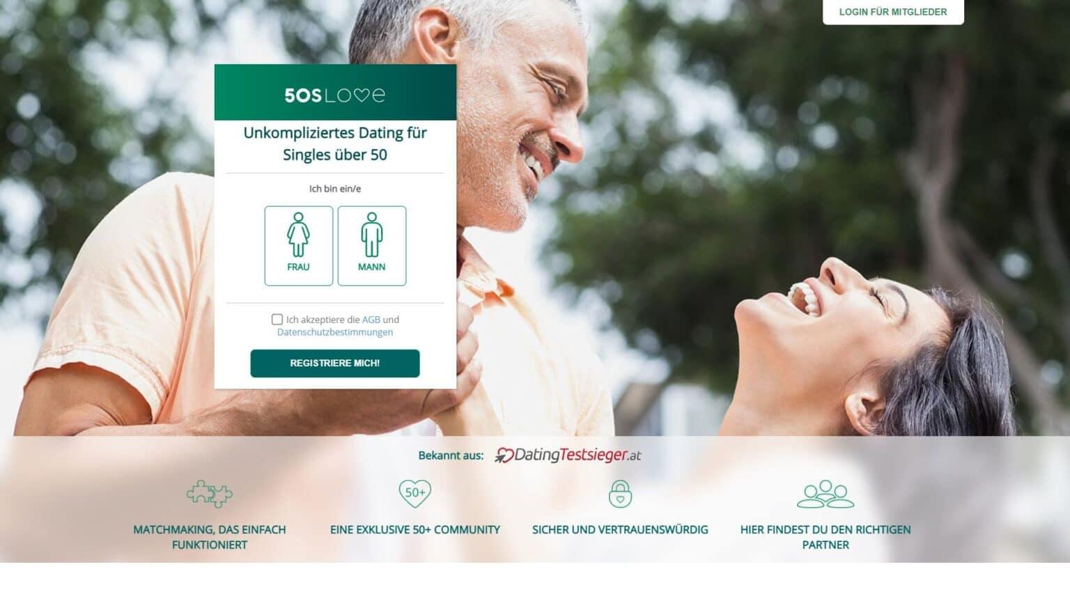 Senior dating sites über 50